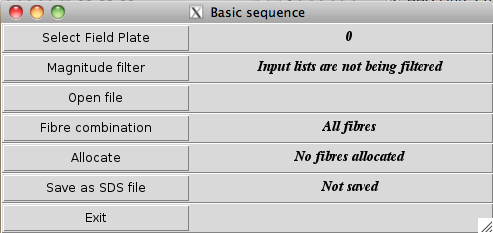 Configure Basic Sequence